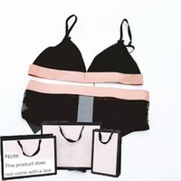 Mujer bikin traje de baño letra letra impreso mujer traje de baño sexy empuje hacia arriba bikinis nadar traje de baño ropa de playa verano fresco instinto bikini 2021