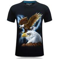 Summer Mode Loose Grande T-shirt Trend Loisirs Jeunesse Porter des manches courtes de haute qualité collier rond 3D