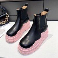 Automne et hiver Designer Bottes Femmes De Femmes Sold Mode Casual All-Match Martin Bootss Bottes Bas Bashe Boîtes De Style Chellse