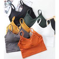 Gym Clothing Cotton Sports Bras Women Push Up Solid Bra Jogging Girl Underwear Fitness Running Yoga Sport Tops