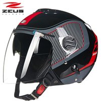 오토바이 헬멧 제우스 남성과 여성의 진짜 헬멧, 듀얼 렌즈, 여름 겨울,