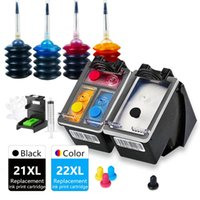 Ink Cartridges 21XL 22XL DeskJet F2212 F2214 F2235 F2238 F2240 F2250 F2275 F2280 F2288 F2290 Cartridge Replacement For Inkjet 21 22 XL