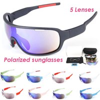 2020 Unisex Polarized 5 Lens Box Cycling Sunlasses Set For Mens Sunglass Bicycle Windproof Women UV400 Men Sunglasses Outdoor With Spor Qhjm