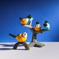 İpeksi Lake Kuş Dekor Reçine Ev Heykel El Sanatları Süsler Masaüstü Mobilyalar