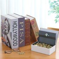 Storage Safe Box Wörterbuch book Bank Geld Bargeld Schmuck versteckte geheime Sicherheitsumfang 1153 V2