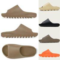 Topsportmarket Slides Slippers Men Women Desert Sand Black Bone White Core Brown Enfora Blue Orange Resin Slide Moon Gray Sandals Pure Soot Shoes