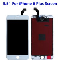 5.5 inch For iPhone 6 Plus LCD Panels Used to repair phone display Multiple quality options 6P Touch Digitizer Screen Assembly Replacement Black White