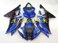 Injectie ABS-kit Kit Fairing Kits voor Yamaha YZFR6 YZF R6 2008 2009 2010 2011 2012 2013 2015-2016 2014 08 09 10 11 12 13 14 15 16 Custom Gift Carrosserie Well Blue Black