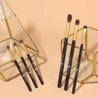 Grundlegende Lidschatten-Make-up-Bürste Set 3 Stück Beauty-Werkzeug-weibliche Stick-Wimpern-Curler