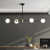 Pendant Lamps Modern Dining Room Chandelier Lighting Glass Nordic Interior Decoration Lights Kitchen dining office Hanging
