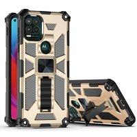 Telefonfodral för Cricket Ovation 2 icon2 u325 Magnetisk bilmontering Kickstand PC TPU Shocksäkert lock