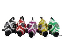 Курительные трубы творческий камуфляж цвет черепа силиконовая маска акриловые кальяны трубки оптом DWD10187