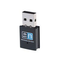Adattatore di rete Wi-Fi da 300 Mbps per PC / Desktop / Laptop RTL8192 Chipest Mini Viaggio USB WiFi Recipre Supporto Mac OS X