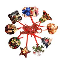 Sublimatie Blanco Kerst Ornament Dubbelzijdig Xmas Tree Hanger Multi Shape Aluminium Plaat Metalen Opknoping Tag 4835 Q2