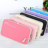 Wallets High Heels Women PU Leather Multifunctional Phone Bag Lunch Box Ladies Long Case Coin Purse Magnetic Buckle Wallet