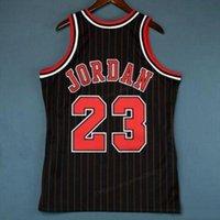 Billig benutzerdefinierte retro # 23 Michael Mitchell Ness College Basketball Jersey Männer schwarz genäht jede größe 2xs-3xl 4xl 5XL Namensnummer Jersey