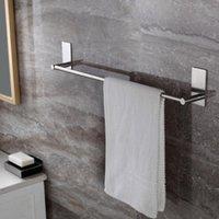 Porte-serviettes 40/55/70cm Salle de bain 304 Acier inoxydable Custors Custors Custométrie Soi-adhésif