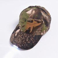 Visors LED Hat Light Baseball Cap Camouflage Team Up Travel Chapeu Sports Night Walking Fishing Running #2