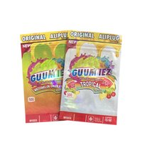 주입 된 Cerea 치료 플러그 편집기 패키지 Mylar Bags Ali 식용 국소 수문 Gummi Candy Packages 가방 Resealable Packing