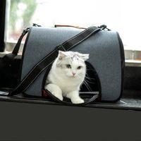 Petable Pet القطط الكلاب الناقل القط الكلب حقيبة سفر مصممة للمشي المشي في الهواء الطلق في الهواء الطلق على مقاعد السيارة 4KG يغطي