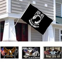 3 X5 Ft POW MIA Flag Vivid Color And Fade Proof - Canvas Header Banner Flags You Are Not Forgotten Prisoner Of War Flags Polyester w-00957