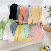 Ins children's wear jackets, boys and girls, long sleeves, facial mask, baskets, spring, macarons, T-shirt tide.