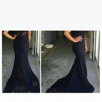 Navy Blue Formal Dresses Off The SHoulder Mermaid 2021 Prom Dresses Sexy Long Evening Dress red Carpet Custom Made