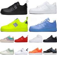 Nike Scarpe da uomo 2021 Air Force 1 Dunk Sneakers Low Volt Triple Bianco Blu Red Flat Bottoms da donna Skateboard Jogging Escursionismo Trainer Dunks