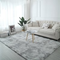 Carpets Tie-Dye Art Carpet Super Soft Floor Bedroom Mat Gradient Color Fluffy Area Rug Living Room Hallway Home Decoration