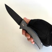 Limited Edition Shirogorov F95 Custom Vicissitudes Stone Wash Titanium Handle S35VN Blade Folding Knife EDC Outdoor Survival Camping Tactical Fashion Tools