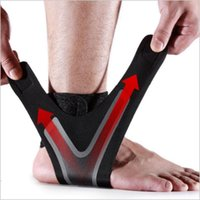 Ankle Support 1Pcs Sports Pads Basketball Compression Breathable Nylon Strap Belt Fitness Brace Protection Gear