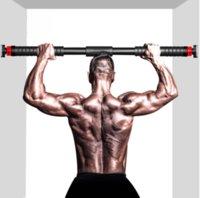 Household Horizontal Bar Indoor Pull-ups On The Door Single Pole Fitness Equipment Frame Corridor Aisle Wall Bars