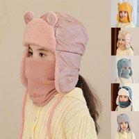 Cappelli, sciarpe Guanti set Cappello per bambini Donne Plus Velvet Cappelli Bambini Autunno Ciclismo Autunno Antivento Baby Bambino Capelli invernali Ragazzi Ragazze Outdoor Ear Prot