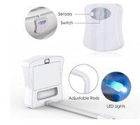 Fournitures de bain Toilettes Night Light LED Capteur Motion Activé Salle de bain Salle de bain Nightlight Ood6381