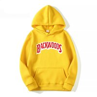 Vida dişi manşet hoodies streetwear backwoods hoodie kazak erkekler moda sonbahar kış hip hop hoodie kazak hoodi