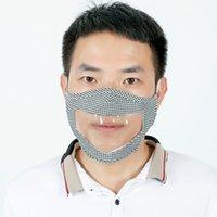 Für spezielle Lippe taub und stumme Menschen können durch Expression staubdichte Schutzwollgittermaske sehen