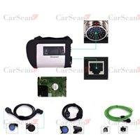 Diagnostic Tools Last Version SD Connect C4 Multiplexer For MB Star Car Truck Diagnosis Programming With Xentry DAS WIS ECP