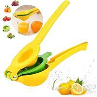Küchenwerkzeuge Kunststoff Zitronen-Squeezer Hend Hend Juicer Double Bowl Lime Manual Orange Citrus Press