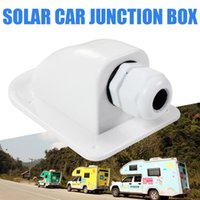 Parts Camper Part Marine Accessories Waterproof UV Resistant Boats Solar Panels Spoiler Single Hole RV Round Junction Box