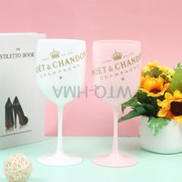 Wine Glasses Party White Champagne Coupes Cocktail Glass Flutes Cup Plastic Highball