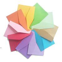 Mini Paper Envelope Craft Paper Card Envelope Postcard Wedding Gift Invitation Envelope Office Stationery Paper Bag DWD8632