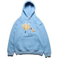 Новая распродажа мода капюшон сломана толстовка взрыв свитер стиль мужчин и женщин размер M-XXL