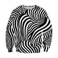 Men's Hoodies & Sweatshirts LIASOSO Fashion Hoodie Men 3D Print Zebra Pattern Women Spring Hooded Sweatshirt Long Sleeve Lounge Wear