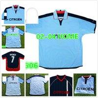 الرجعية Real Club 2002 2004 Celta دي فيجو لكرة القدم جيرسي 02 04 # 11 g.lopez كرة القدم قميص خمر المنزل أزرق كلاسيكي camiseta ميلوسيفيك mostovoy jesuli
