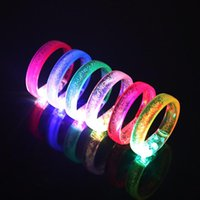 Party Decoration Flash Bracelet Led Wristband For Club Colorful Toy Girl Boy Gift Glow In The Dark Fluorescent Bracelets Fie...