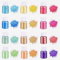Mika pigment tozu sabun mum makyaj ürün DIY yakıt MSDS güvenli malzeme vücut cilt renkli çizim