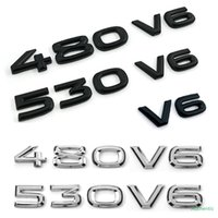 Trunk Fender V6 480 V6 530 V6 شارة شعار ملصق ل فولكس واجن فولكس فاجن أن تورامونت توران توران طوارق باسات أطلس CC