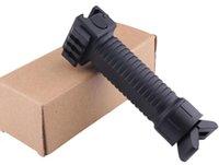 Nylon bipod triangular prefeitura para armas de brinquedo de rifle