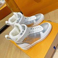 mens silver fashion mirror shoes silver…LOUIS…VITTONOK llVUTTONok high…lv…low shoe B0CN#