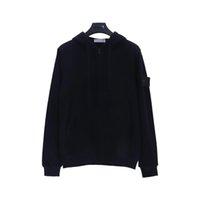 Men's Hoodies Sweatshirts High Quality Jumpers Island Fashion Mens Clothing Letter Stone Long Sleeve Pullover Man Sportswear Crewneck A3